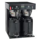 Bunn 37600.0004 ICB-TWIN Dual Infusion Series Black Coffee Brewer - 120/240V