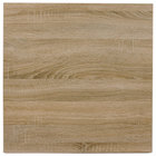 BFM Seating SO3030 Midtown 30 inch Square Indoor Tabletop - Sawmill Oak Finish