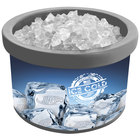 Gray Ice Cube 900 4 Qt. Countertop Merchandiser