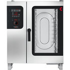 Convotherm C4ED10.10GS Half Size Boilerless Gas Combi Oven with easyDial Controls - 68,200 BTU