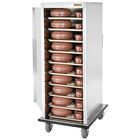 Alluserv VL1824S Value Line Stainless Steel 24 Tray Meal Delivery Cart