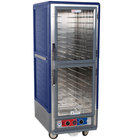 Metro C539-MDC-4-BU C5 3 Series Heated Holding and Proofing Cabinet with Clear Dutch Doors - Blue