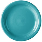 Homer Laughlin 1461107 Fiesta Turquoise 6 5/8 inch Round Appetizer Plate - 12/Case