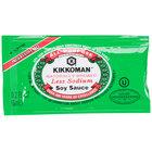 Kikkoman Low Sodium Preservative Free Soy Sauce - (200) 6 mL Packets / Case - 200/Case