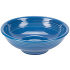 Homer Laughlin 765337 Fiesta Lapis 2 Qt. Pedestal Bowl - 4/Case