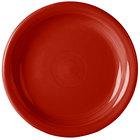 Homer Laughlin 1461326 Fiesta Scarlet 6 5/8 inch Round Appetizer Plate - 12/Case