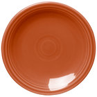 Homer Laughlin 463334 Fiesta Paprika 6 1/8 inch Round Bread and Butter Plate - 12 / Case
