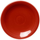 Homer Laughlin 463326 Fiesta Scarlet 6 1/8 inch Round Bread and Butter Plate - 12 / Case