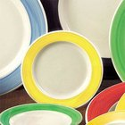 CAC R-3 YELLOW Rainbow Pasta / Soup Bowl 12 oz. - Yellow - 24 / Case