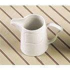 CAC SOH-PC Soho 6 oz. Ivory (American White) Stoneware Creamer - 36/Case
