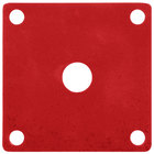 GET ML-223-RSP Red Sensation Melamine False Bottom for ML-149 Square Crocks - 12/Case