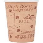 Choice 8 oz. Café Print Poly Paper Hot Cup - 1000/Case