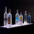 Beverage-Air LS5-60L-DW 60 inch Liquor Shelf with Built-In LED Lighting - 9 inch Deep