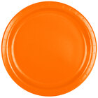 Creative Converting 47191B 9 inch Sunkissed Orange Paper Dinner Plate - 24 / Pack
