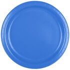 Creative Converting 47145B 9 inch True Blue Paper Dinner Plate - 24 / Pack