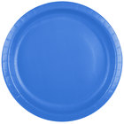 Creative Converting 50145B 10 inch True Blue Paper Plate - 24/Pack
