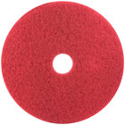 3M 5100 10 inch Red Buffing Pad - 5 / Case