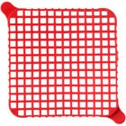 Nemco 56381-1 1/4 inch Red Push Block Cleaning Gasket