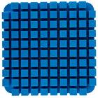 Nemco 57418-2 3/8 inch Blue Push Block