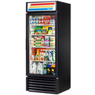 1 Section Glass Door Merchandising Refrigerators