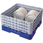Cambro CRP141012168 Blue Full Size PlateSafe Camrack 10 1/2-12 1/2 inch