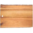 Tablecraft ACAR1409 Acacia Wood Rectangular Serving Board - 14