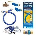 48 inch Dormont 1675KIT2S Deluxe SwivelMAX Gas Connector Kit - 3/4 inch Diameter