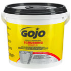 GOJO® 6398-02 Scrubbing Towels Heavy Duty Wipes 170 Count Bucket - 2 / Case