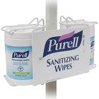 Purell® 9002-01 Sanitizing Wipes Double Canister Pole-Mount Bracket