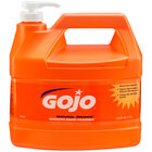 GOJO® 0945-04 1 Gallon Natural Orange Smooth Hand Cleaner - 4 / Case