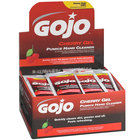 GOJO® 2350-02 0.5 oz. Cherry Gel Pumice Hand Cleaner with Display Box - 2/Case