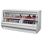 Turbo Air TCDD-96-4-L 96 inch White Low Profile Curved Glass Refrigerated Deli Case - 19.2 cu. ft.