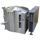 Blodgett KLT-20G Liquid Propane 20 Gallon Tilting Quad-Leg Gas Steam Jacketed Kettle - 80,000 BTU