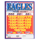 Eagles 3 Window Pull Tab Tickets - 3204 Tickets per Deal - $2520 Total Payout
