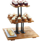 Cal-Mil Appetizer and Stemmed Dessert Stands