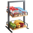 Cal-Mil 3494-2-99 Madera Two Tier Merchandiser - 12 inch x 12 inch x 21 inch