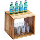 Cal-Mil 1929-12-99 Madera Reclaimed Wood Cube Riser - 12 inch x 12 inch x 12 inch