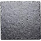 Cal-Mil 1522-1212-65M 12 inch Square Faux Slate Serving Platter