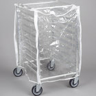 Curtron SUPRO-14-EC-1/2 Protecto Clear Half Size Bun Pan Rack Cover - 12-14 Mil