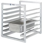 Channel RIUTR-10 10 Pan End Load 20 1/2 inch x 23 inch x 51 inch Pan Rack for Reach-Ins - Assembled