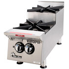Star 802HA-SU Ultra Max 2 Burner Step Up Countertop Range / Hot Plate 60,000 BTU - 12