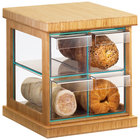Cal-Mil 1718-60 Bamboo Four Drawer Bread Case - 16 1/2 inch x 15 inch x 15 inch