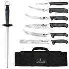 Victorinox 46137US2 8-Piece Ultimate Knife Set with Black Fibrox Pro Handle