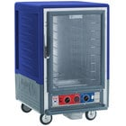 Metro C535-CFC-L-BU C5 3 Series Heated Holding and Proofing Cabinet with Clear Door - Blue