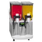 Bunn Ultra-2 HP Slushy / Granita Frozen Drink Machine with 2 Hoppers - White & Stainless Steel 120V (Bunn 34000.0012)