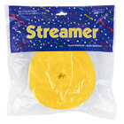 Creative Converting 076520 500' School Bus Yellow Streamer Paper - 12/Case