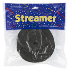 Creative Converting 076030 500' Black Velvet Streamer Paper - 12/Case