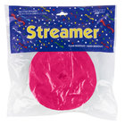 Creative Converting 076290 500' Hot Magenta Pink Streamer Paper - 12/Case