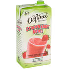 DaVinci Gourmet Strawberry Bomb Real Fruit Puree Smoothie Mix - 64 oz.