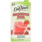DaVinci Gourmet Strawberry Bomb Real Fruit Smoothie Mix - 64 oz.